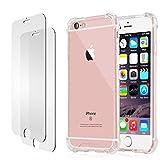 iPhone 6s 6 Hülle, iPhone 6s 6 Panzerglas, E-Unicorn Apple iPhone 6s 6 Hülle Silikon Transparent Durchsichtig Tasche S