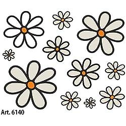 Quattroerre Villa D '6140Adhesivos Sticker Margaritas