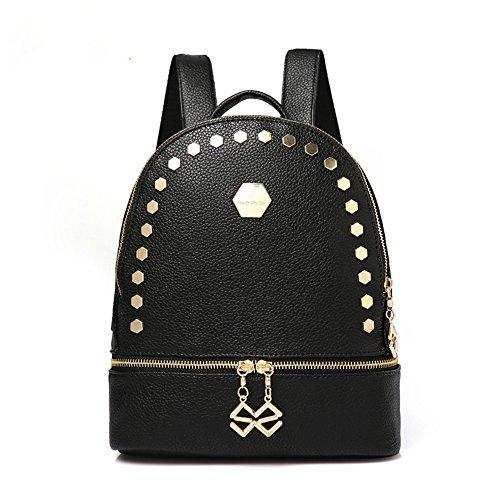 Fare doppio borse tracolla collegio femminile studenti' schoolbags Ms. vento elegante zaino C A