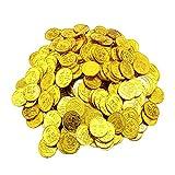 Toyvian Monedas de Oro de Piratas Juego de Juguetes de Monedas de...