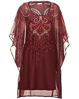 Street One Chiffon-Kleid Simone (36, print red plum)