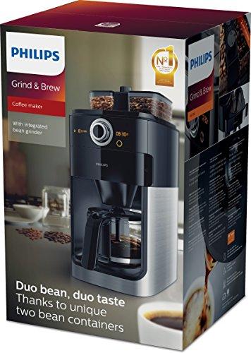 Philips HD7766/00 Grind&Brew Filter-Kaffeemaschine mit Mahlwerk - 5