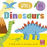 Dinosaurs: A little board book of dinosaurs with a fold-out surprise (Toddler's World, Band 9)