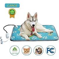 SUFUPETS Sufu - Manta eléctrica para Mascotas con Almohadilla de calefacción, Impermeable, antimordeduras,
