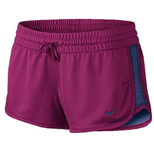 Nike Damen Fitness Shorts Reversible Pink/Blue (M, Pink/Blue) (Shorts Nike Reversible)