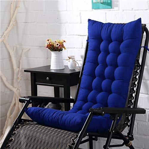 YYRZGW Lounge Chair Kissen Indoor Outdoor Chaise Lounge Kissen Sofakissen mit Kappe Perfekt für Garten Patio Matratze für-Baolan A-48x155x8Cm -