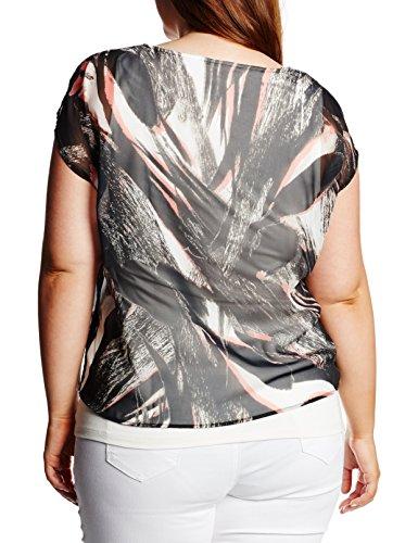 Gerry Weber Venedig, T-Shirt Femme Ecru - Elfenbein (Offwhite Druck 9000)