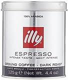 illy Espresso gemahlen, dunkle Röstung, 125 g