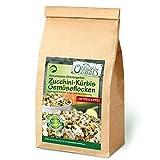 Original-Leckerlies: Zucchini-Kürbis-Gemüseflocken, 500g getreidefreie Gemüseflocken, Hundeflocken, Hundefutter- Naturprodukt für Hunde, barfen