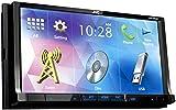 JVC KW-V420BT Autoradio DVD/CD/USB con Monitor 7.0'', Nero