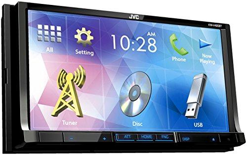 JVC KW-V420BT Vidéo Embarquée Fixe, 16:9 Tuner Intégré Bluetooth