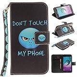 Chreey Coque Samsung Galaxy J3(2015)(2016) / SM-J310F / SM-J320F (5 pouces),PU Cuir Portefeuille Etui Housse Case Cover ,carte de crédit Fentes pour ,idéal pour protéger votre téléphone