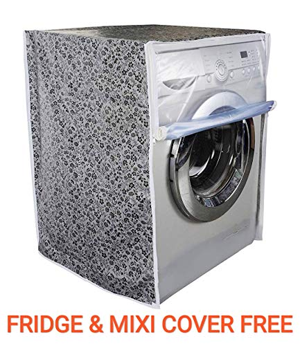 ASIMA Front Load Washing Machine Cover for Capacity 5KG,5.5KG,6KG &(ONLY New Model 6.5KG)