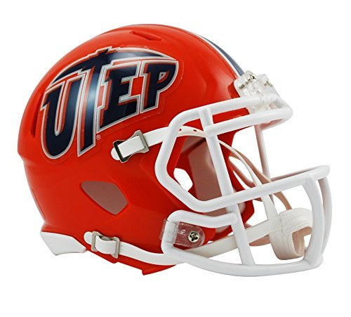 NCAA Mini-Helm Texas EL Paso (ENEP) Miners Speed