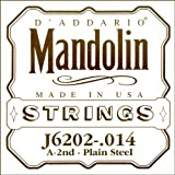 D\'Addario J6202 .011 Plain Steel Single String for Mandolin