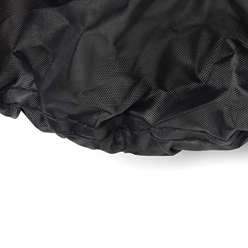 54inch Tractor Cover Garden Yard Riding Mower Lawn Tractor Cover Protection Black -JenNiFer
