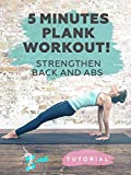 5 Minutes Plank Workout! Strengthen back and abs! [OV]