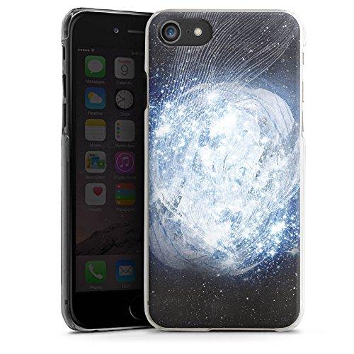 Apple iPhone X Silikon Hülle Case Schutzhülle Universum Galaxie Dimension Hard Case transparent