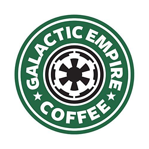 Star Wars Rogue One Galactic Empire Coffee Starbucks Logo Women's Sweatshirt white