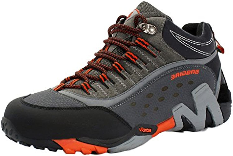 Botas Altas De Senderismo para Hombre Explorer Sneakers A Prueba De Golpes Gran Tamaño Exterior Antideslizante...