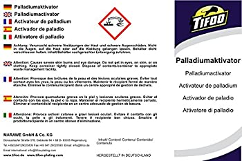 Palladium-aktivator (1000 Ml) Für Tifoo Nickel-star Und Gold-star 1
