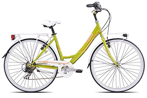 LEGNANO BICICLETA TROPEA LADY 261 URBAN 26 X 1   3/8 TALLA 46 6 V VERDE (CITY)/BICYCLE TROPEA LADY 261 URBAN 26 X 1   3/8 SIZE 46 6S GREEN (CITY)