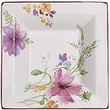 Villeroy & Boch Mariefleur Gifts Coupelle carrée, Porcelaine Premium, Blanc/Multicolore