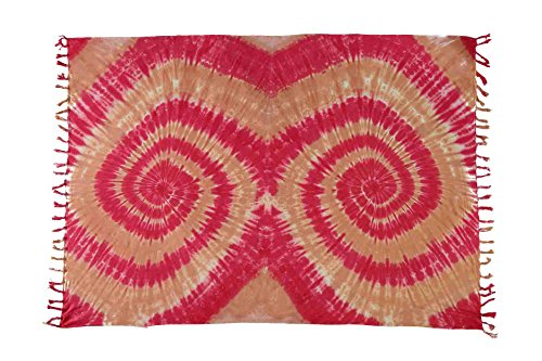 Ca 30 Modelle Sarong Pareo Wickelrock Standtücher Schals Handtuch aus der Serie Crazy Islands Riesen Auswahl Split - Crazy Colors