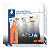 Staedtler Textsurfer Classic 364 Surligneur Orange fluo Lot de 10