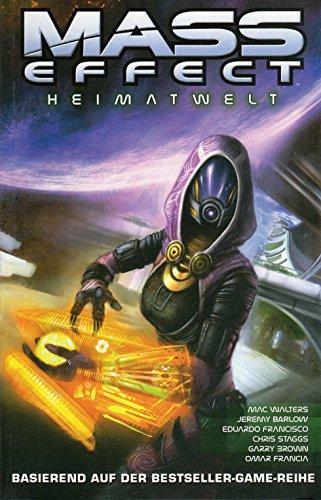 Preisvergleich Produktbild MASS EFFECT Comic Paperback # 4: HEIMATWELT (basierend auf der Beststeller-Game-Reihe)