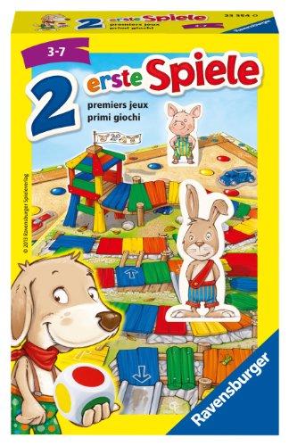 Ravensburger 23354 - Zwei erste Spiele - Kinderspiel/ Reisespiel