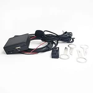 Bluetooth Aux Adapter Mit Mikrofon Usb Für Ford Focus Elektronik