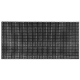 Tidyard- Gummimatte 23 mm 100 x 150 cm | Ringgummimatte Gummi Ringmatte für Eingangsbereich Terrasse oder Werkstatt