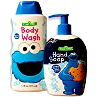 Sesame Street Cookie Monster Body Wash (12