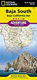 Baja California South: National Geographic Adventure Map (Adventure Map (Numbered))