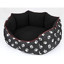 Hobbydog Cama para Perros, tamaño L, 65 x 55 cm, aushaltbares codurastoff,