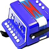 Sharplace-Acorden-Juguete-Instrumento-Musical-para-Nios-Rojo-Azul-Negro