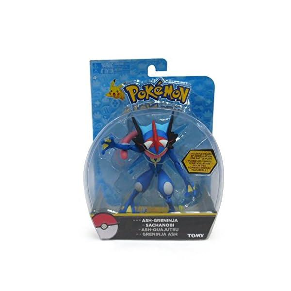 TOMY Pokémon–Figura de acción, Ash-Greninja 2