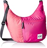 Wildcraft Polyester Pink Messenger Bag (Wiki Grab-it : Wiki : Pink)
