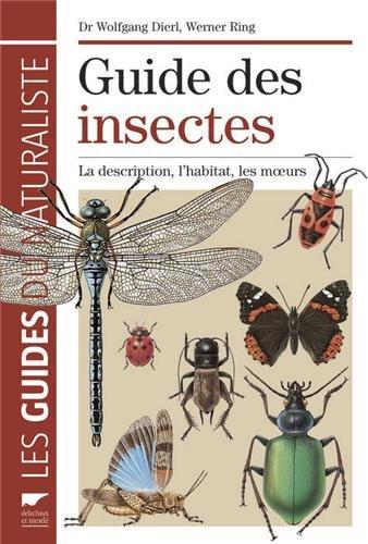 Guide des insectes : La description, l'habitat, les moeurs