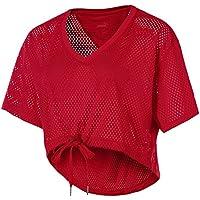 Puma a.c.e Malla Layer–Camiseta, otoño/Invierno, Mujer, Color Ribbon Red, tamaño Medium