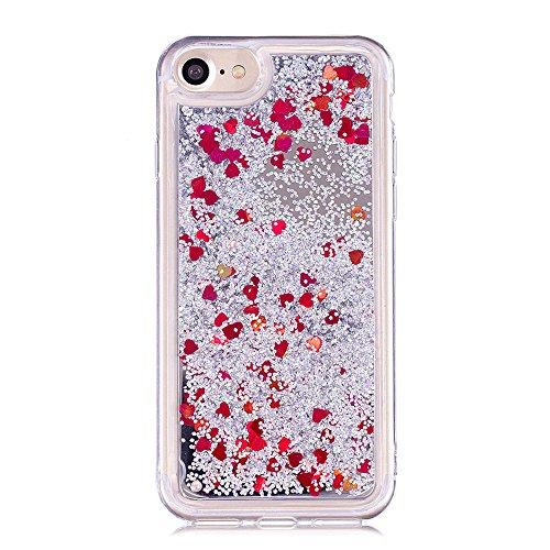 coque transparente iphone 8 coeur