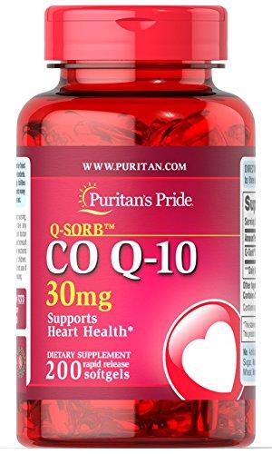 Co-Q-10 30 mg 200 Softgels 7273 - 30 Mg 30 Softgels