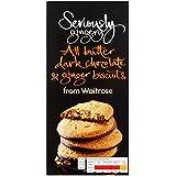 Sérieusement Gingery Tout Beurre Chocolat noir & Ginger Biscuits Waitrose 125g