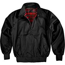 Harrington Jacke Winter schwarz