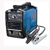 Scheppach 5906603901 Schweißer/Schweißgerät mit Elektroden WSE900, automatischer Heißstart, Anti-Hafttechnik und dynamische Stromnachregelung, Leistung regelbar: 20-160 A, 4600 W, 230 V