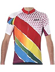 CCN JSS048 Short Sleeve Cycling Men's Jersey, XYLITOL Natural Cool ,Race Cut for Professional Biker