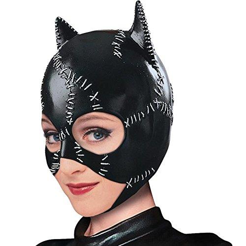 Générique Maschera in PVC a Forma di Catwoman, Taglia Unica, Riferimento: MA1420
