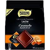 Nestlé Láminas de Chocolate Con Leche Y Caramelo Al Punto de Sal - 135 g