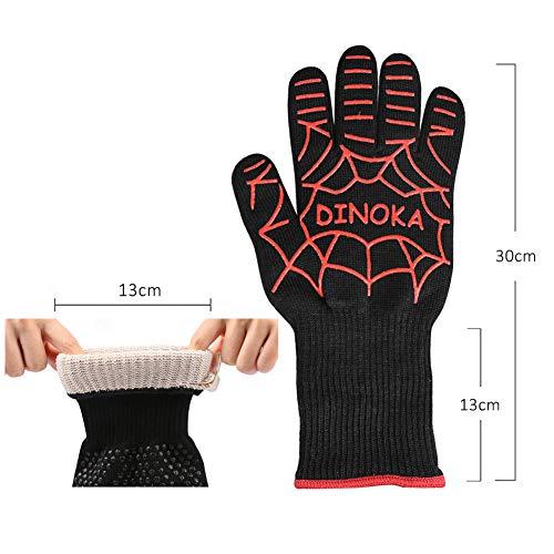 Zoom IMG-1 guanti grigliati dinoka da forno